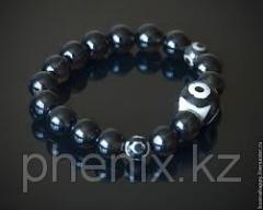 3 glazy bead of a dza
