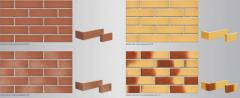Tile front brick in Almaty and Atyra