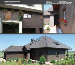 Tile front angular (acute-angled) 120х65х10