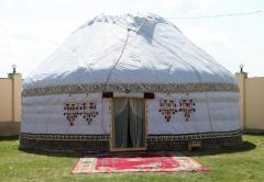 Казахские юрты