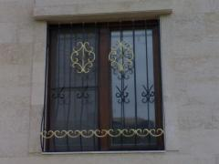 Lattices on windows in Almaty