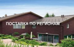 Brick facing in Almaty, Atyra