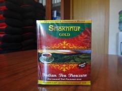 The black granulated Indian tea Shakhnur Gold