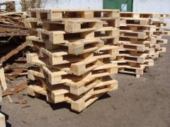 Cargo pallets of the Altey.kz company