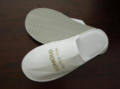 Slippers for hotels.