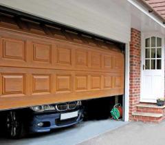 Automatic garage gate of Almaty