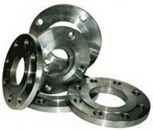 Flange for PE of plugs