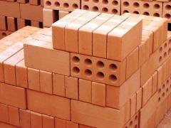 The brick is ceramic