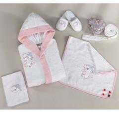Children's dressing gown 5 subject (cotton)