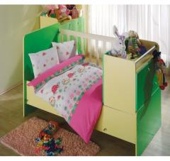 Set of bedding for the girl