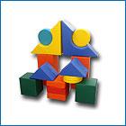 Мягкий напольный конструктор из 20 элементов