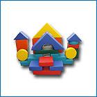 Мягкий напольный конструктор из 20 элементов Мини