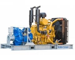 High-pressure pumps and pumps for open mining