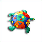 Didactic toy - a turtle