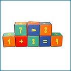 Дидактическое пособие - кубики-цифры