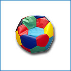 Ball - a chair with granules