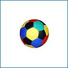 Сенсорный мяч D50 см , Д75