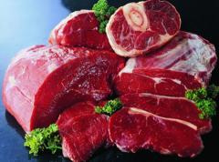 Meat beef half carcasses cooled with wholesale