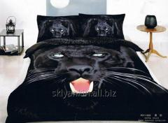 Bed linen of Shining star 3D sateen. 2spalka eur
