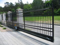 Gate are retractable