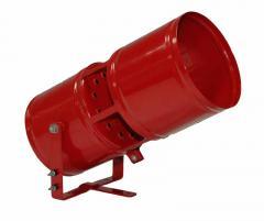 Generator of a fire extinguishing aerosol of