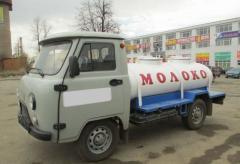 Молоковоз, Автомобили грузовые молоковозы