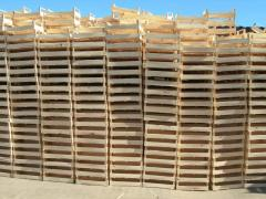 Wooden boxes of Almaty