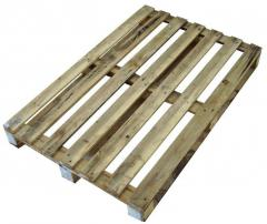 Pallets of the second grade