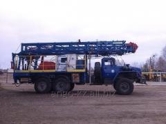 Агрегат подъемный для ремонта скважин АПРС-40М на