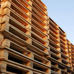 Pallets are carg