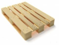 Europallets without brand from the producer of