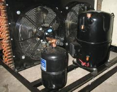 Units compressor and condenser productions of the