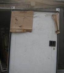 Refrigerating retractable doors of 2,2 m x 1,6 m
