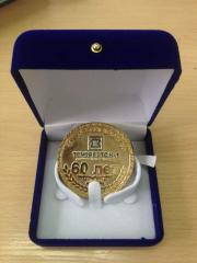 The medal is anniversary