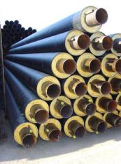 Thermal insulation for pipes from polyethylene