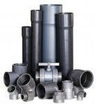 PVC of the coupling, pipe, semi-branches, branches
