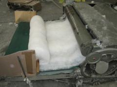 Combing car of wool