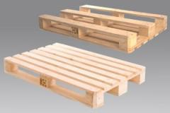 Europallets, pallets wooden from the producer