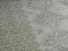 Ткань льняная декоративная жаккардовая Ширина: 150 см. Плотность: 240 Состав...
