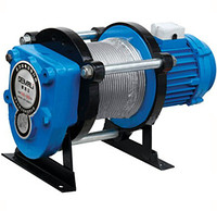 CD 1500 electric winch.