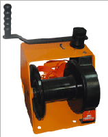 Winch of manual worm 500 kg