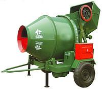 The concrete mixer from samozgruzky JZC 350