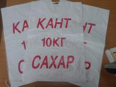 Bags for sugar of 10 kg in Almaty