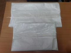 Bags with polyethylene inside in Almaty, Akzholtay