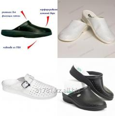 Сабо тапочки - сандалии кожаные
