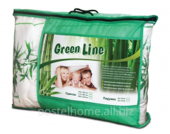 Pillows of Green Line Bamb