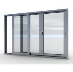 Aluminum windows in Almaty