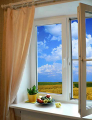 Windows are vertical oar