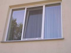 Windows plastic, aluminum