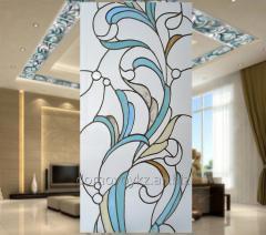 Витражи художественные уникальной ручной работы   в Алматы